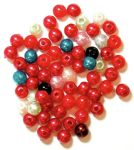 CF01\354 Pearls: 4mm: 5 Packs of 7g - Full Colour Range
